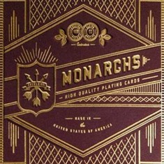 Monarchs Playing Cards - Red