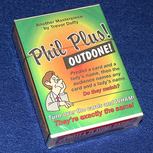 "Phil Plus ""Outdone"" by Trevor Duffy"
