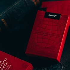 Product Red - Playing cards by Theory 11