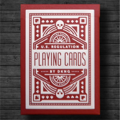 Red Wheel - Playing Cards