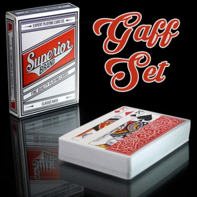 Superior Brand Cards - Gaff Set (27 Cards)