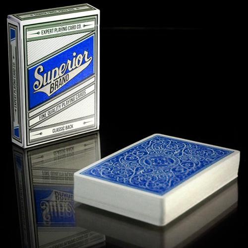 Superior Brand Cards - Blue
