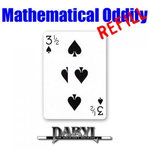 Mathematical Oddity by Daryl Refill - 3 1/2 of SPADES