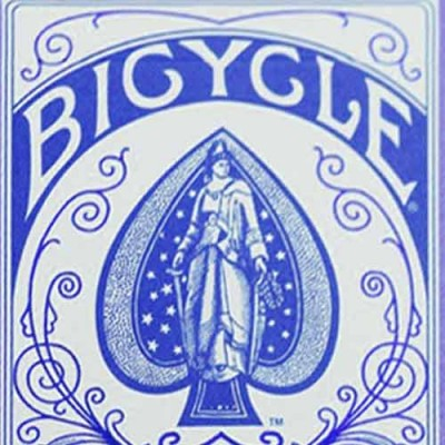 Blue Bicycle AutoBike No. 1 - Playing Cards