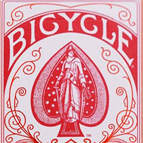 Red Bicycle AutoBike No. 1 - Playing Cards