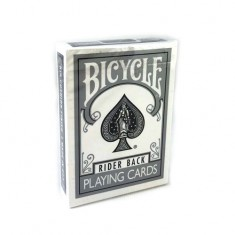 Bicycle Cards - Silver Back