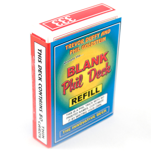 Blank Phil Deck - Refill