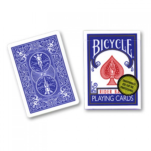 Bicycle Cards (Gold Standard) - Blue by Richard Turner