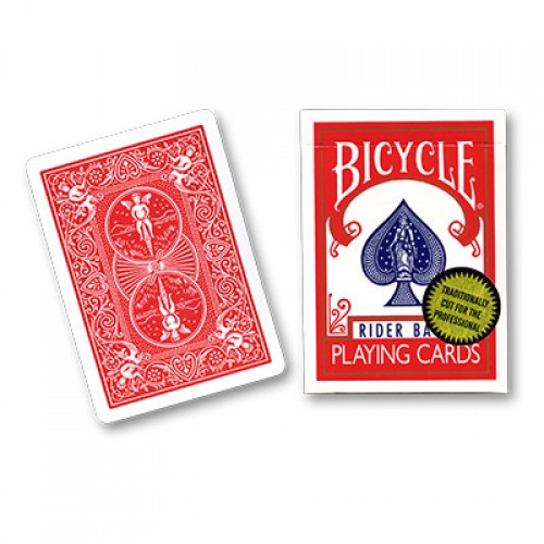 Bicycle Cards (Gold Standard) - Red by Richard Turner
