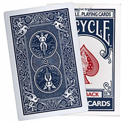 Jumbo Bicycle Cards - Blue