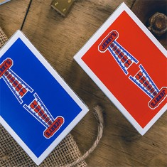 Vintage Feel Jerry's Nuggets Playing Cards - Blue
