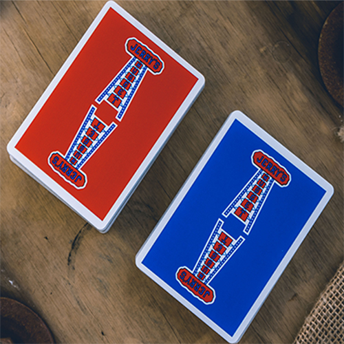 Modern Feel Jerry's Nuggets Playing Cards - Blue