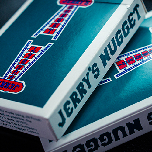 Vintage Feel Jerry's Nuggets Playing Cards - Aqua