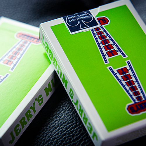 Vintage Feel Jerry's Nuggets Playing Cards - Green