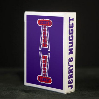 Modern Feel Jerry's Nuggets Playing Cards - Royal Purple