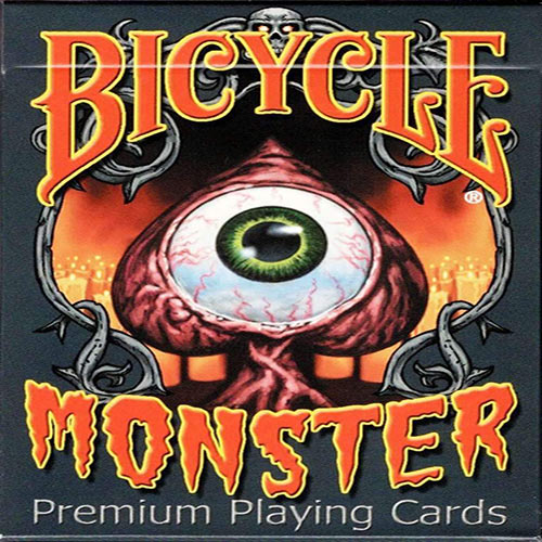 Monsters Bicycle Playing Cards