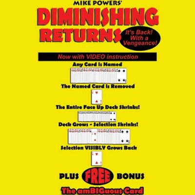 Diminishing Returns - Mike Powers