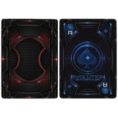 Bicycle Evolution Deck (Blue)