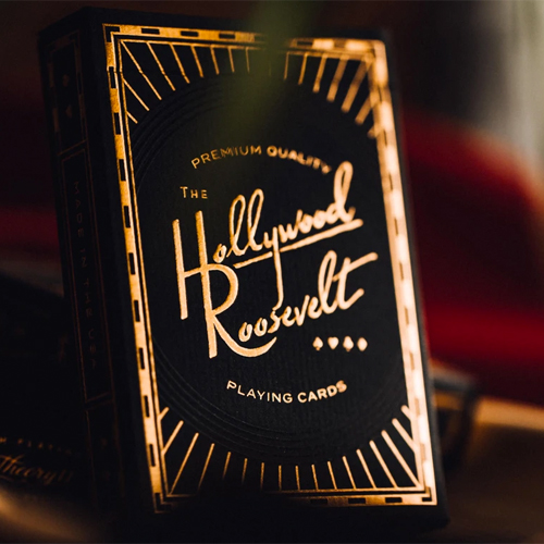 Hollywood Roosevelt Playing Cards by Theory 11