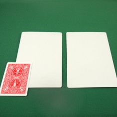 Jumbo Bicycle Card - Double Blank