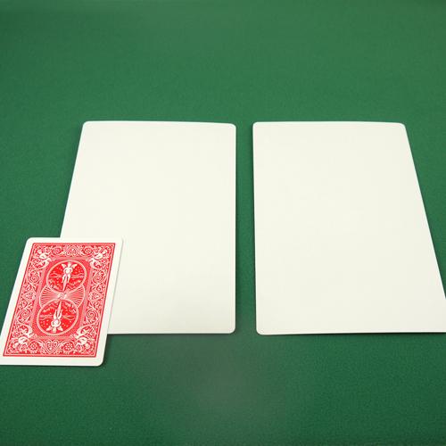 Jumbo Bicycle Card - Double Blank