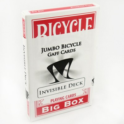 Jumbo Invisible Deck Red - Spray Roughed