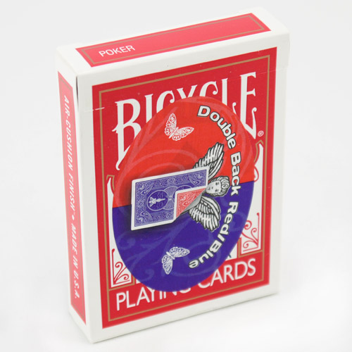 Mandolin Cards - Double Back - Red, Blue