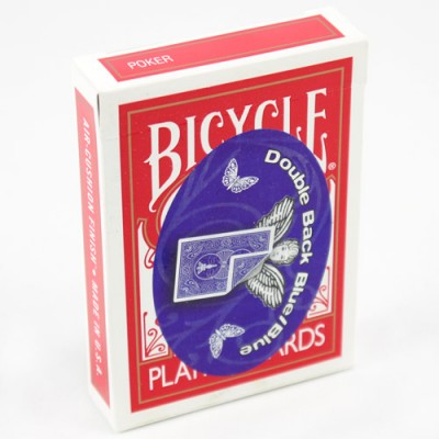 Mandolin Cards - Double Back - Blue, Blue