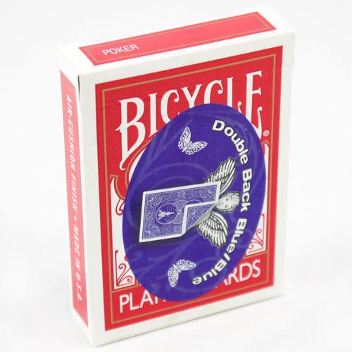 Mandolin Cards - Double Back - Blue, Blue