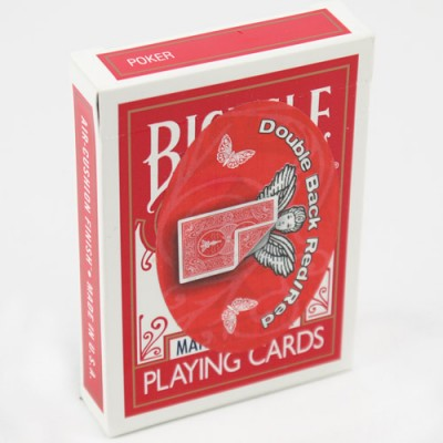 Mandolin Cards - Double Back - Red, Red