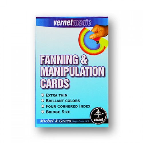 Fanning and Manipulation Cards (4 colour) by Vernet
