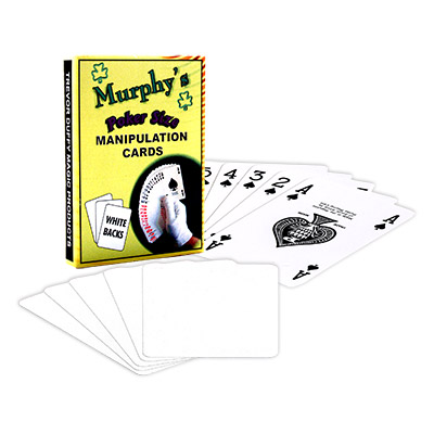 Manipulation Cards by Trevor Duffy - Poker Size White