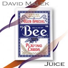 Marked Deck (Blue Bee Style, Juice) by David Malek