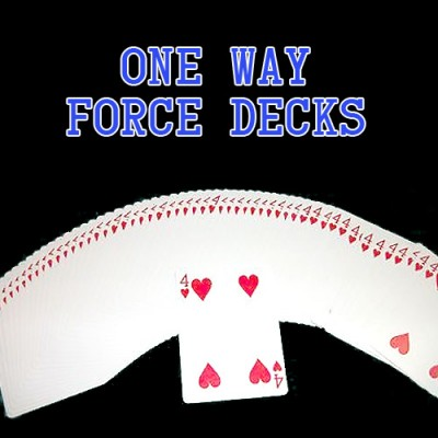 One Way Forcing Deck - Blue