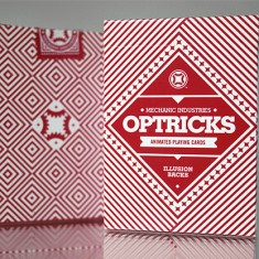 Mechanic Optricks Deck - Red by Mechanic Industries