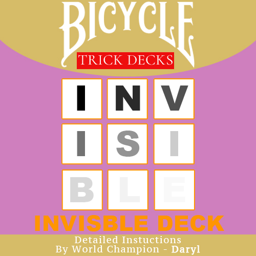 d56746dc7a6 Invisible Deck - Bicycle