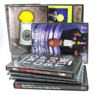 Chop Cup/Cups and Balls DVDs