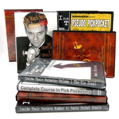 Pickpocketing etc DVDs
