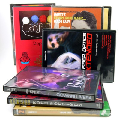 Rope Magic DVDs