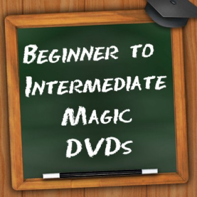 Beginner to Intermediate Magic DVD