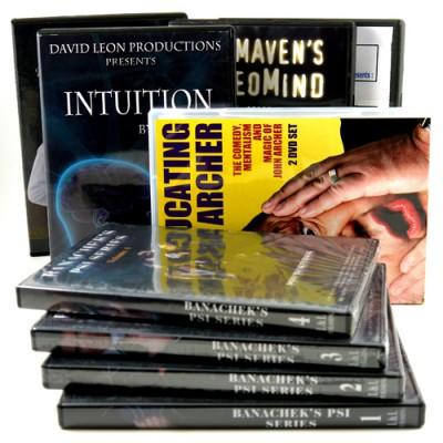 Mentalism DVD's & CD's