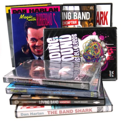 Rubber Band Magic DVDs