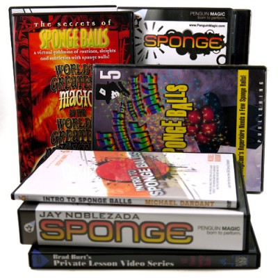 Sponge Balls DVD's
