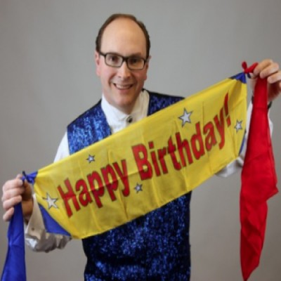 Flash Appearing Birthday Banner by Tommy James