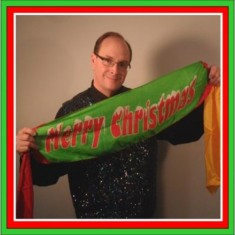 Flash Appearing Christmas Banner by Tommy James