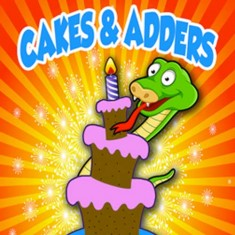 Cakes and Adders (DVD and Poker Sized Gimmicks) - Gary Dunn