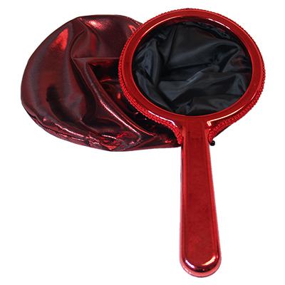 Change Bag Chrome Handle by Bazar de Magia - Red