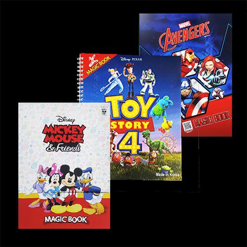 Magic Colouring Books by JL Magic