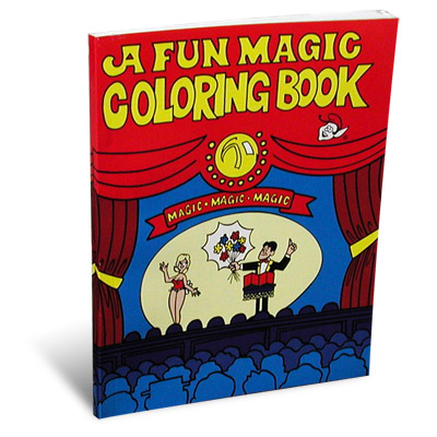 Pocket Size 3 Way Coloring Book
