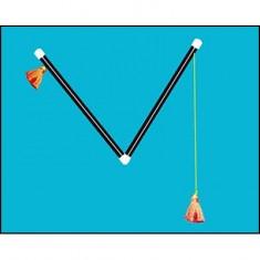"Chinese Pom Pom Sticks 15.5"" by Uday"